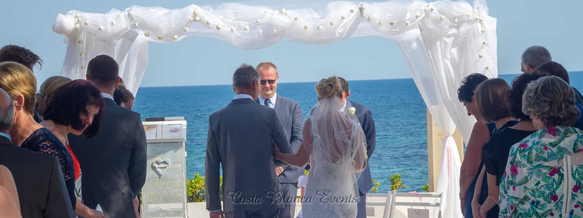 Types of weddings in Spain - wedding blessing ceremony Spain