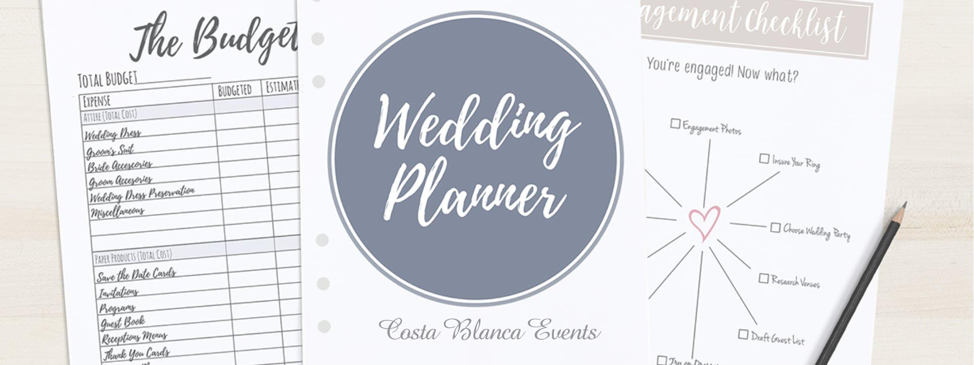 Cost of a wedding planner - why Costa Blanca Events is a free destination wedding planner