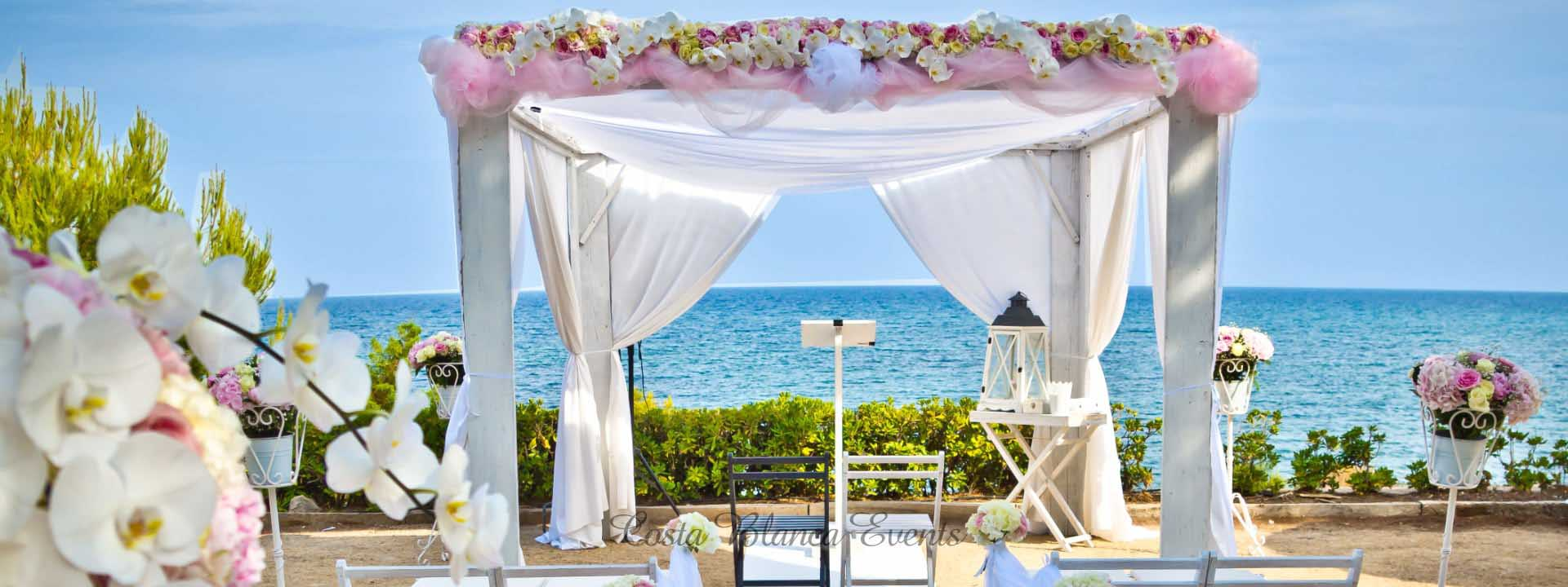 Weddings in Spain packages prices - my perfect wedding in Spain