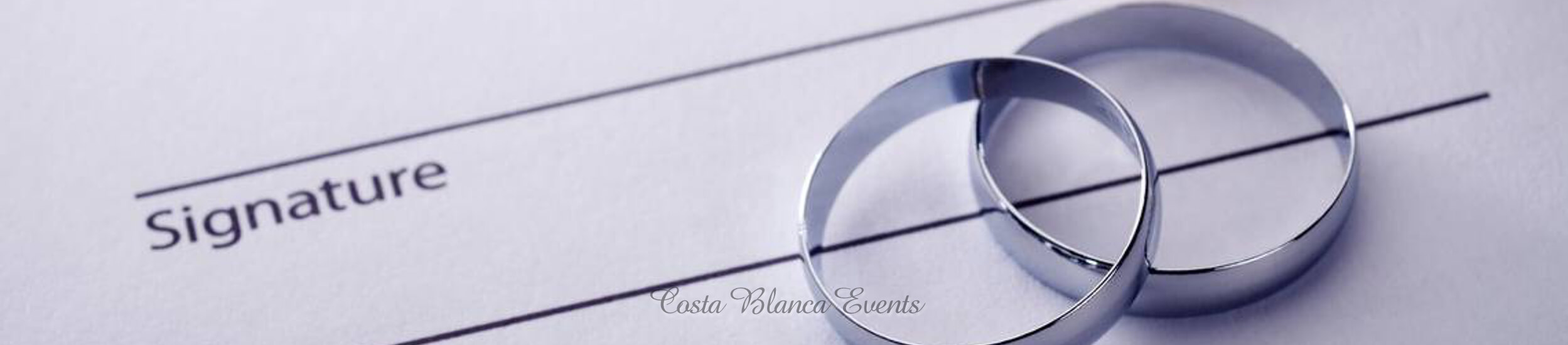 Costa Blanca Events wedding planner agreement