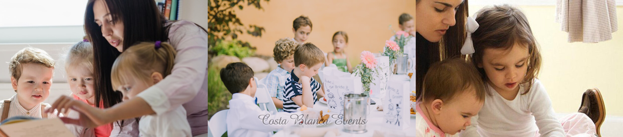 Childcare is very important during your wedding in Spain