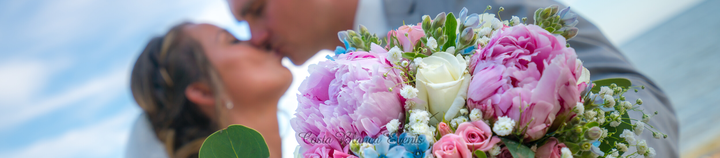 Wedding bouquet is always with the bride during the photoshoot